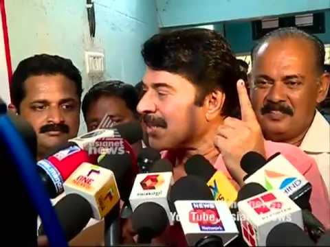 Celebrities cast their votes in Kerala Assembly election 2016 #keralapolls2016