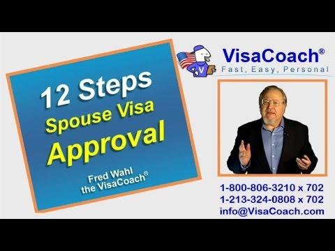 12 Steps to Spouse Visa Approval Faq CR1-03
