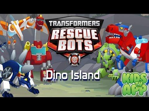 Jogo Transformers Rescue Bots: Dino Island