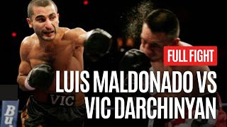 VIC DARCHINYAN VS LUIS MALDONADO FULL FIGHT
