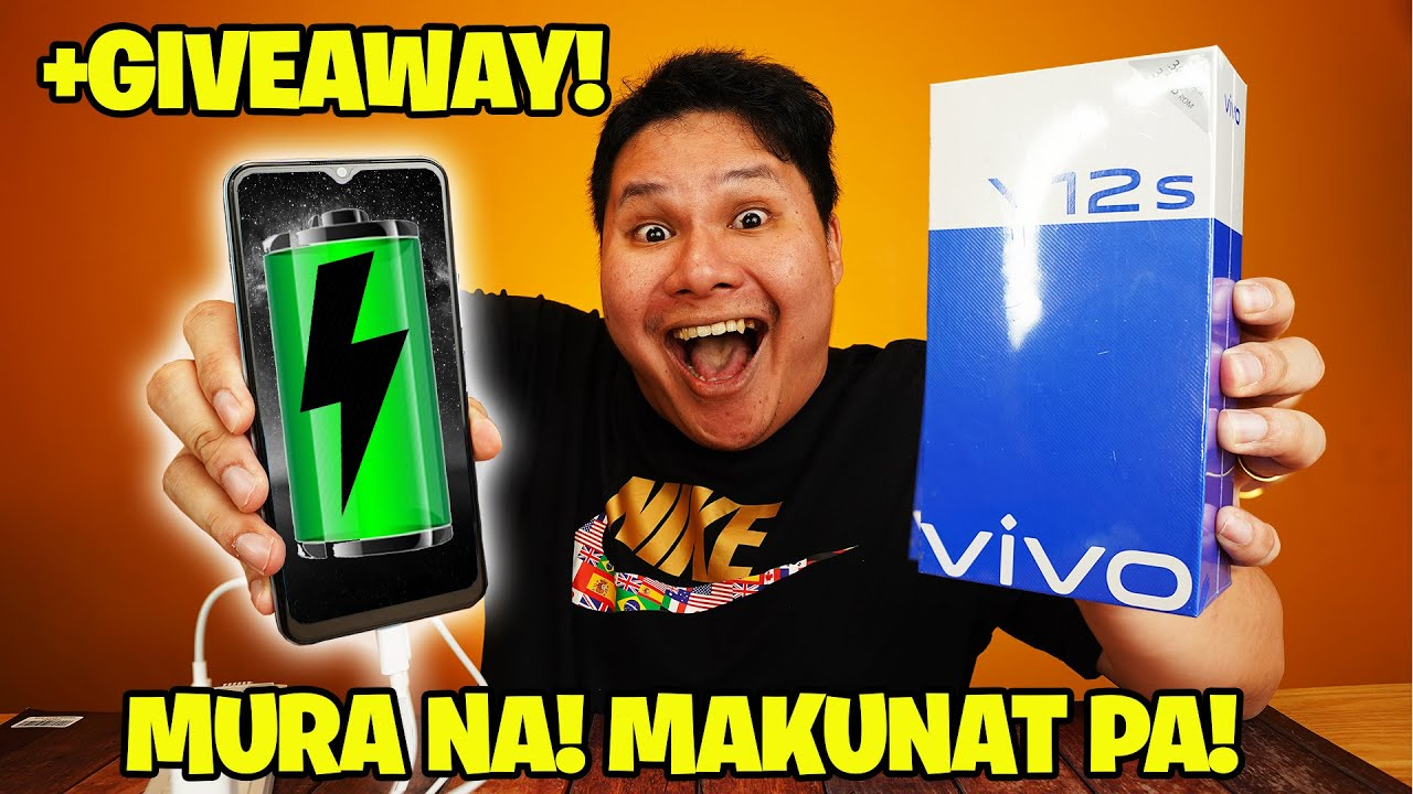 VIVO Y12s BATTERY REVIEW - MURA NA! MAKUNAT PA!
