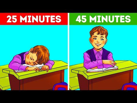 That's Why School Lessons Last Exactly 45 Minutes