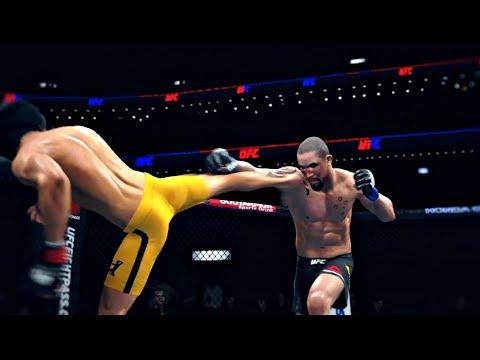 Download BRUCE LEE VS ROBERT WHITTAKER   UFC 4 K1 RULES   UFC 4 2020   UFC 4 BRUTAL FIGHT   EA SPORTS UFC 4
