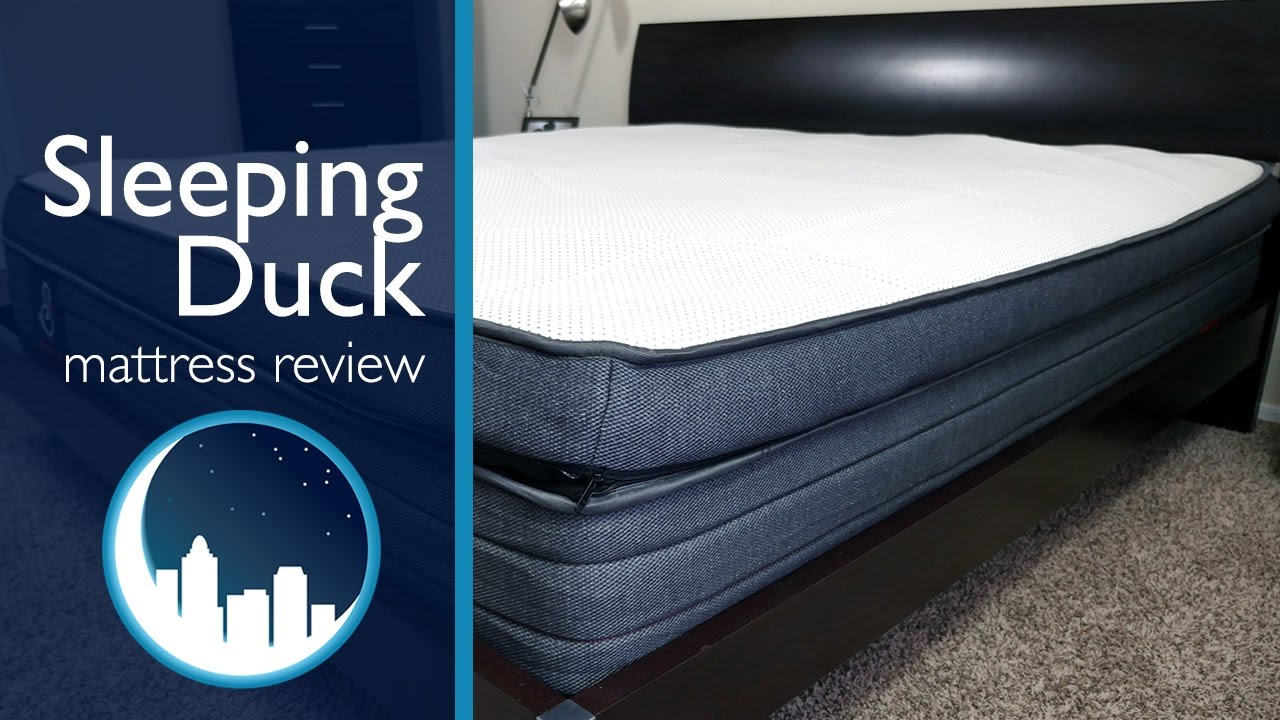 Sleeping Duck Mattress Review - YouTube