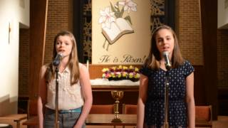 Alyssa & Isabelle - Down in the Valley To Pray (Duet) - Spring 14 Recital