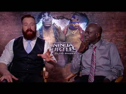 Teenage Mutant Ninja Turtles 2 Interview - Stephen Farrelly & Gary Anthony Williams