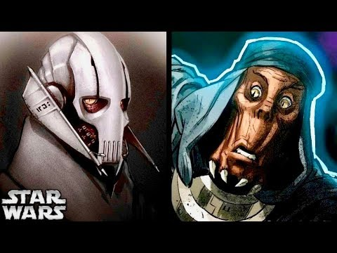 Grievous BEFORE His Cybernetics and Armor Revealed Within ...