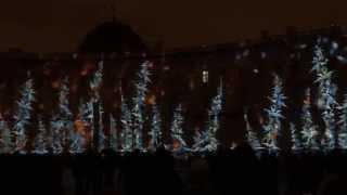 Лазерное шоу 2015  на Дворцовой площади   часть 3