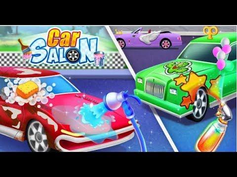 Car Salon 2 Kids Games Cartoon Games For Kids Video