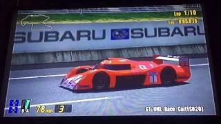 Gran Turismo 3 A-Spec GT-ONE Race Car (TS020) Trial Mountain
