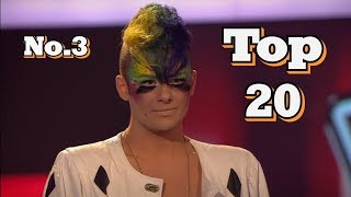 The Voice - My Top 20 Blind Auditions Around The World (No.3)