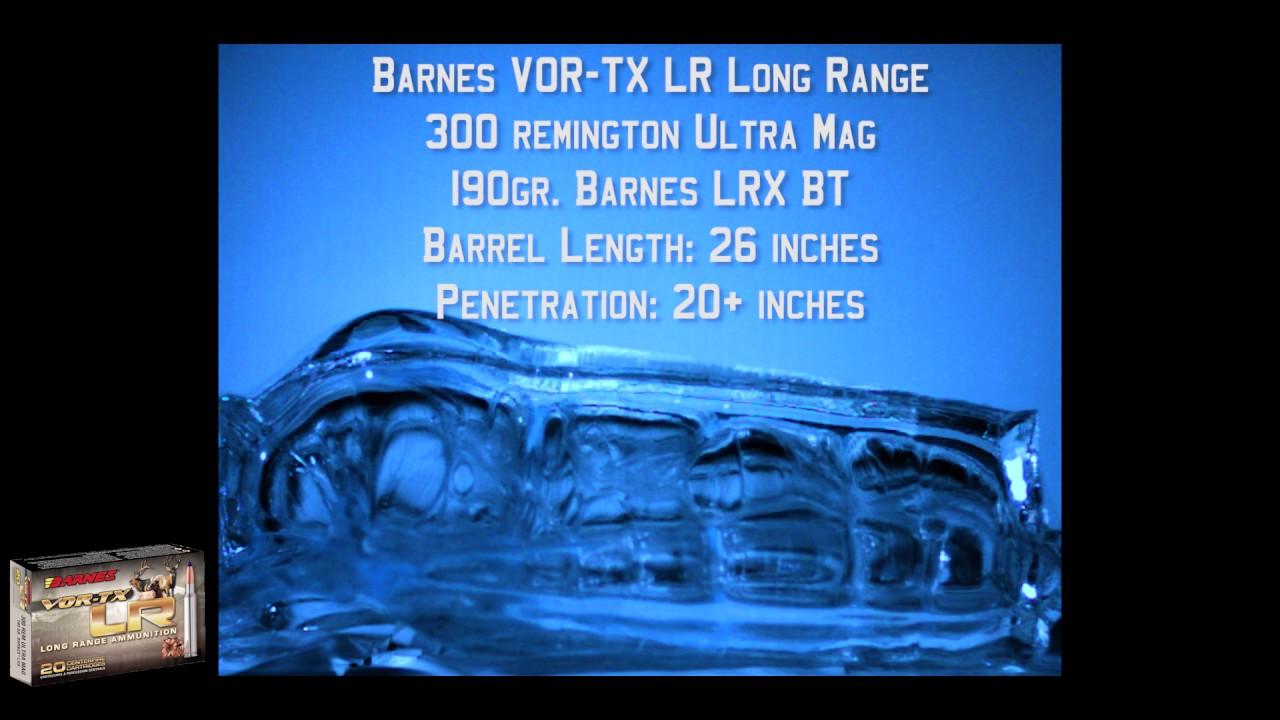 VOR-TX LR Rifle - Barnes Bullets