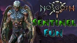 Nosgoth - Sentinel Gameplay, Flying High! [Closed Beta]