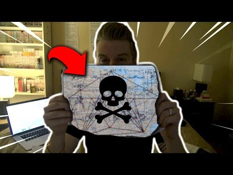 Buying Million Dollar Treasure Map on the Deep Web.. (REAL)