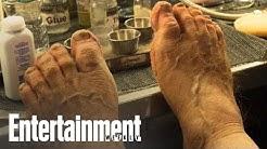 Stephen Colbert Gets Gnarly Hobbit Feet As Bilbo Baggins | Entertainment Weekly