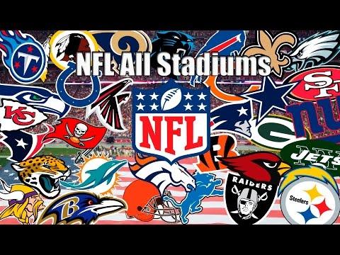 NFL All Team Stadiums