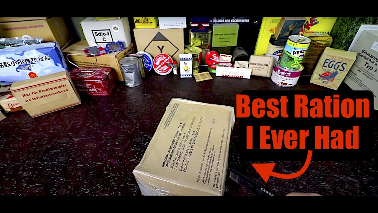 MRE Review !!! NEW Improved Croatian Ration Never Before Seen Version