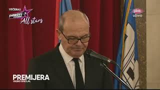 Dragiša Golubović drži govor na Šabanovoj komemoraciji