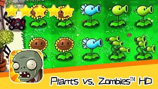 Plants vs  Zombies™ HD Adventure 1 Day Level 04 Part 2 Walkthrough The zombies are coming! Recommend