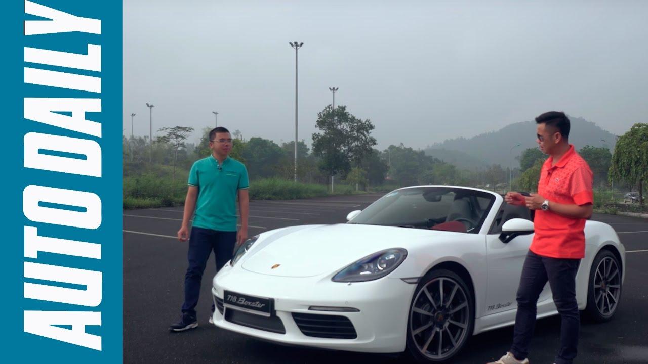 Autodaily.vn | Đánh giá xe Porsche 718 Boxster: Kẻ dẫn dắt cuộc chơi