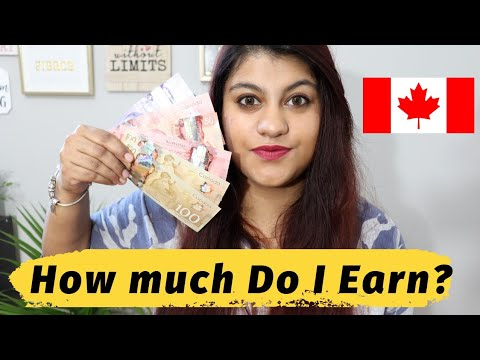 How Much Do I Earn As A Full-Time International Student In Canada || Thatsosnneha
