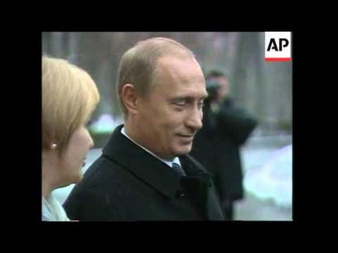 President Putin casts