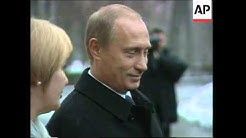 President Putin casts vote in Parliamentary election
