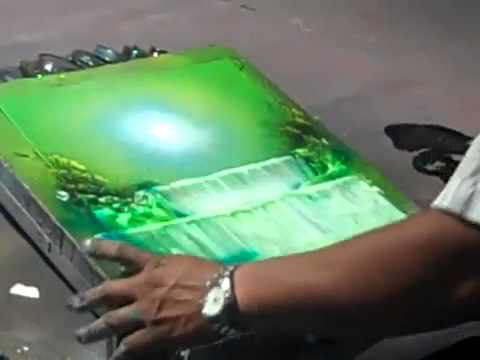 Spray Paint Artist Waterfall - YouTube