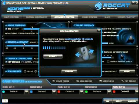 ROCCAT KONE PURE MILITARY Software Preview - YouTube