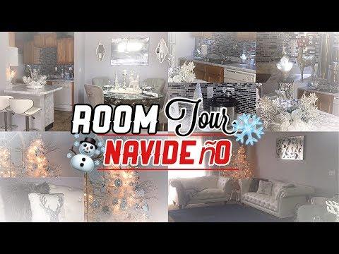 Room Tour  Navideño Por mi  Apartamento  Nady