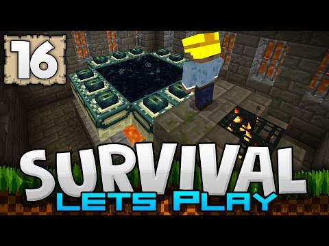 KILLING THE ENDER DRAGON!!! - Survival Let's Play Ep. 16 - Minecraft 1.2 (PE W10 XB1)
