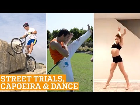 TOP FIVE: Street Trials, Capoeira, Dance & Ice Cross | PEOPLE ARE AWESOME 2016