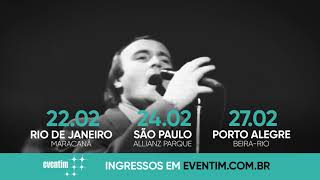 Phil Collins Live! - Brasil 2018