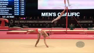 NASSER Abderrazak (MAR) - 2015 Artistic Worlds - Qualifications Floor Exercise