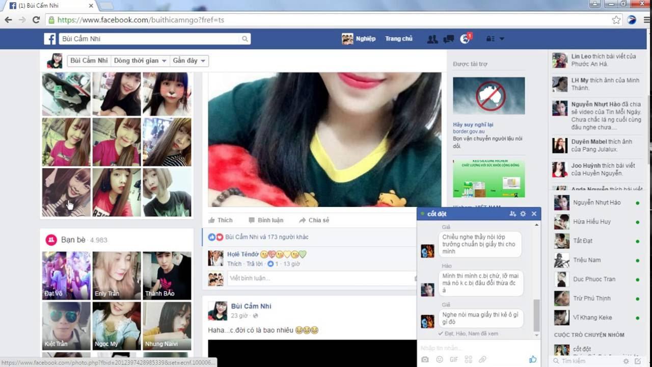 Thủ thuật xem ai thường ghé thăm facebook của bạn