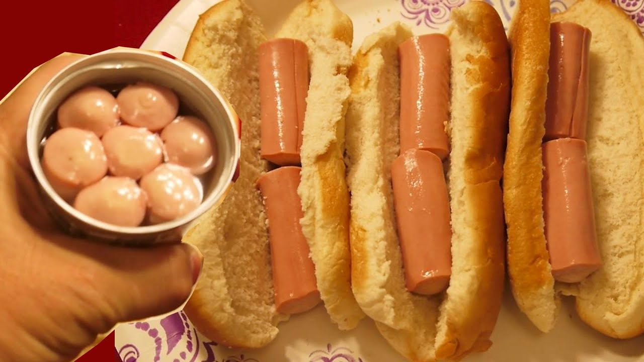 i eat canned vienna sausage in hot dog bun just like that youtube. Black Bedroom Furniture Sets. Home Design Ideas