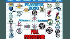 2020 NBA Playoff Predictions | Current Standings