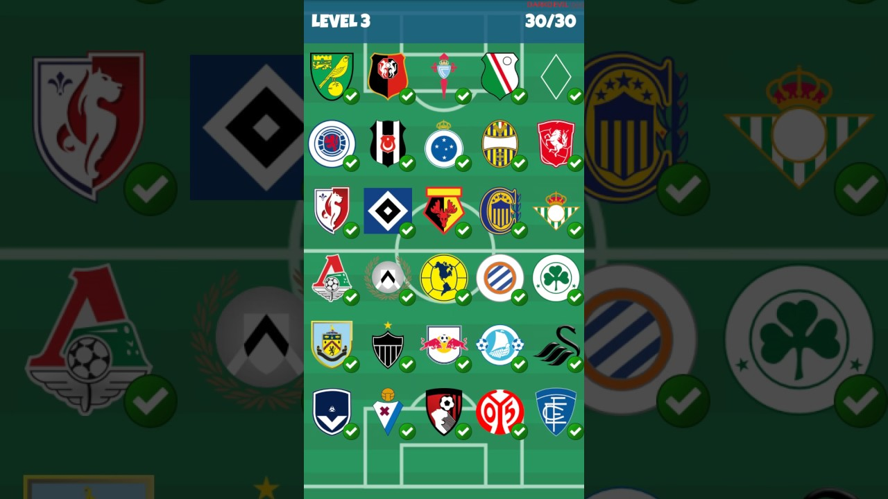 Football Clubs Logo Quiz Level 3 Youtube