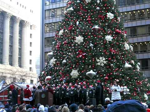 Christmas Tree Lighting Chicago