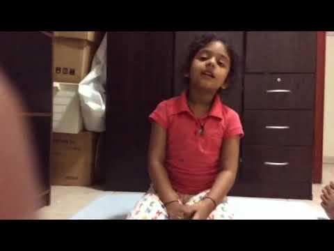Udvita Chauhan Singing Adel Song - Uae Emarati Song