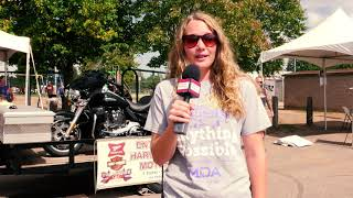 Muscular Dystrophy  Association at the Tomahawk Fall Ride