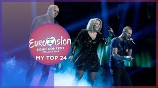Eurovision 2019 - Top  24 (So far) +🇧🇪🇨🇾🇫🇮🇮🇸🇲🇩🇳🇴🇵🇹 -🇺🇦