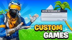 Fortnite Custom Matchmaking 🔴Live🔴