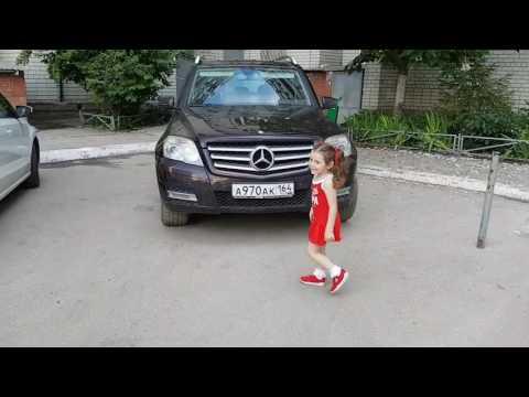 Маленькая автоледи!