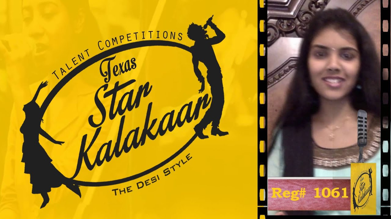 Texas Star Kalakaar 2016 - Registration No # 1061