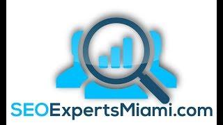 SEO Expert Miami | Miami SEO Consultant | www.SeoExpertsMiami.com