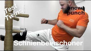 Test Twins Special Schienbeinschoner für Thaiboxen, Kickboxen, Taekwondo, Karate, MMA Kämpfer!