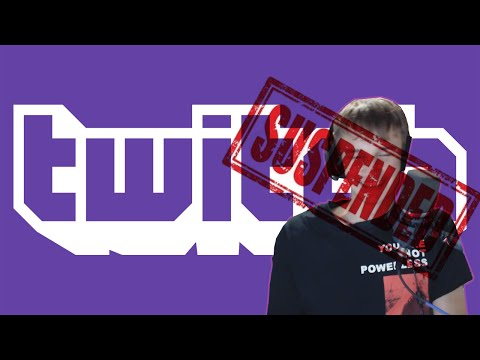 I GOT SUSPENDED FROM TWITCH :o