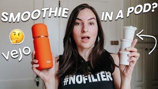 Smoothie in a Pod? | Vejo Blender Review & Unboxing (portable, podbased blender)