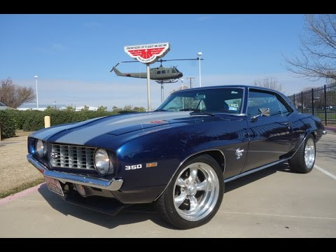 69 camaro ss muscle car - youtube